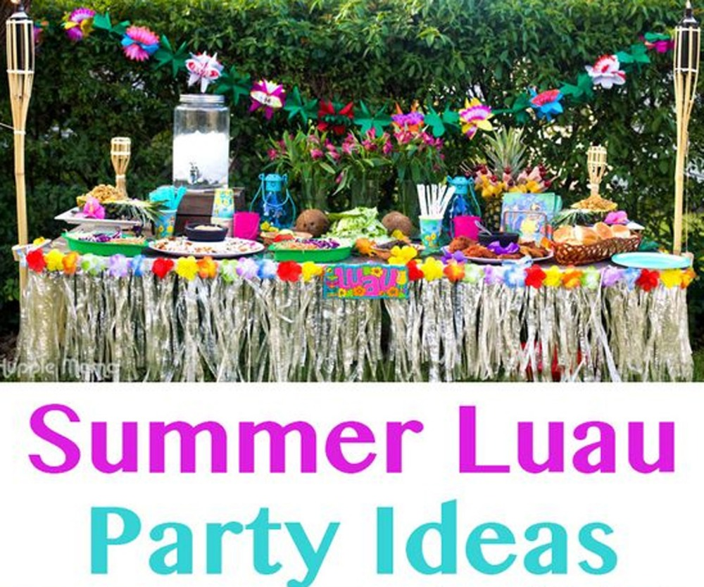 12 Pcs Party Beach Tropical Flowers Necklace Hawaiian Luau Petal ...