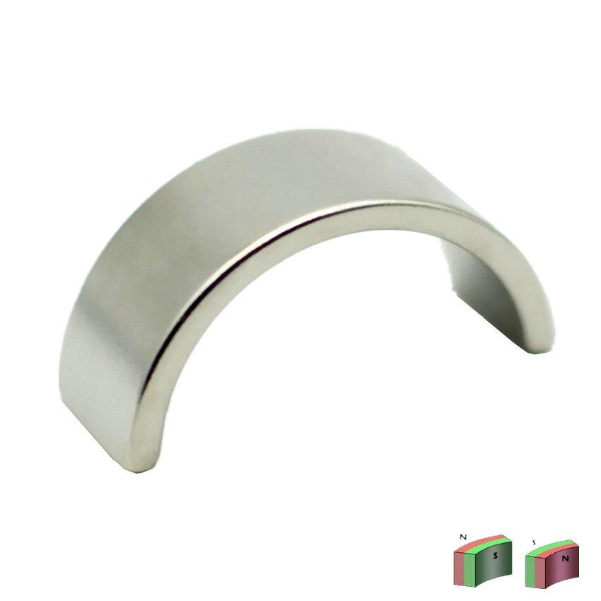 Half Ring NdFeB Arc Segment OR13xIR11x180degx10 mm Moto Magnet for Generators Neodymium Permanent Rotor Magnetics Diameter 26mm