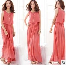 New 2018 summer Plus Size Women Clothing 4XL 5XL Womens Maxi Dresses Brand Bohemian Chiffon Casual Dress Long Sundresses
