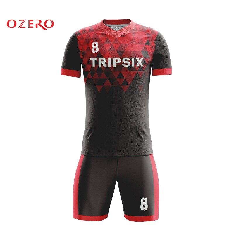 Tenue de sport mixte de sublimation de qualité supérieure concevez vos uniformes de football