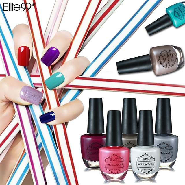 Elite99 10ml Nail Polish Gradient Color Nail Varnishes Based Nail Lacquer Primer Long Lasting DIY Beauty Nail Art Tools