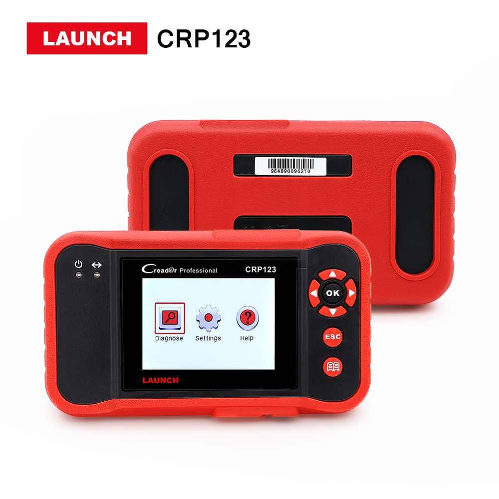 LAUNCH Creader CRP123 Code Scanner Creader Support for Multi Brand Car Diagnostic Tool creader CRP 123