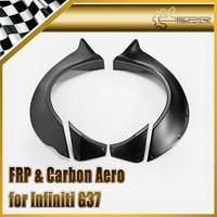 Car Styling For Infiniti G37 Fiberglass LB Style Rear Fender 4pcs FRP Fiber Glass Wheel Flare