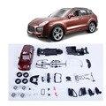 Moda para niños regalo de cumpleaños a estrenar 1:24 DIY juguetes vehículo montado SUV modelo de coche de juguete