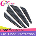 4Pcs/Set Car Door Bumper Strip Car Door Protection Strips Sticker for Lifan X60 320 620 330 530 630 720 X50 820 Car Accessories