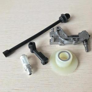 Image 3 - Olie Pomp Filter Pijp Slang Lijn worm Kit Voor Chinese 45CC 52CC 58CC 4500 5200 5800 Kettingzaag Onderdelen