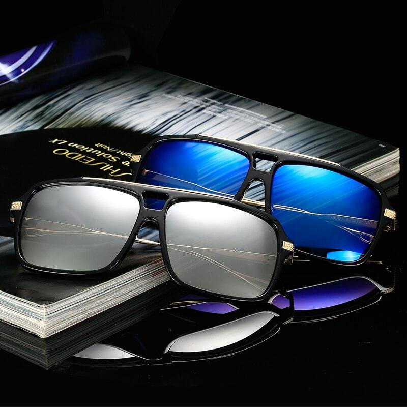 LongKeeper плоским Топ Горячая квадратный Солнцезащитные очки для женщин Для мужчин бренд Дизайн пара Защита от солнца Очки супер SSTAR очки occhiali-д...