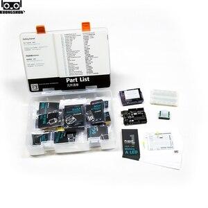 Image 5 - KUONGSHUN UNO R3 ערכת המתחילים Arduino UNO R3 פרויקטים עם אריזת מתנה ומדריך למשתמש
