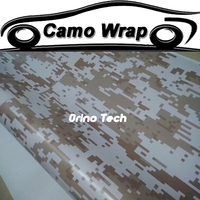 Adhesive Digital Camouflage Film Vinyl Car Sticker Wrap Motorcycle Car Body Wrapping With Air Bubble Free ORINO WRAPS