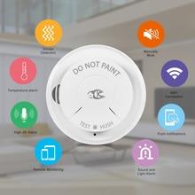 Wifi Rauchmelder Smart Feuer Alarm Sensor Wireless Security System Smart Leben Tuya APP Control Smart Home