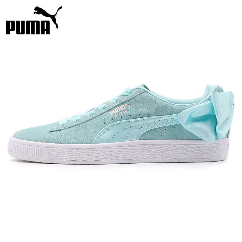uk availability a0f84 ef2bd US $107.72 22% OFF|Original New Arrival PUMA Suede Bow Wns Women's  Skateboarding Shoes Sneakers-in Skateboarding from Sports & Entertainment  on ...