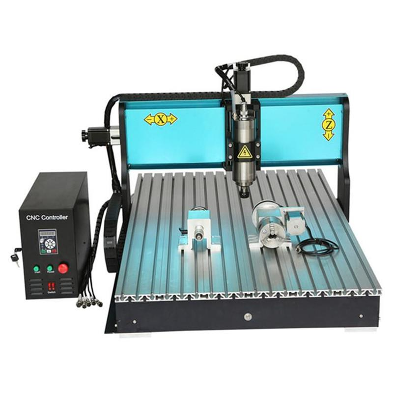 JFT Industrial CNC Router Engraver 4 Axis 1500W Metal Cutting Machine with Parallel Port CNC Milling Machine 6090 jft high precision cnc router cutting machine 300w spindle motor 4 axis cnc engraver with lpt port 3020