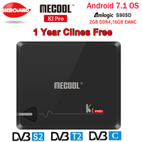 KI PRO 2GB 16GB DVB T2 DVB S2 DVB C Android 7 1 TV Box Amlogic