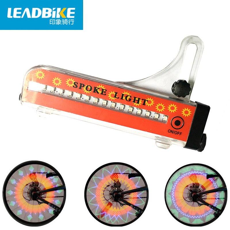 LEADBIKE Hot Wheels Lampe LED Velo Bike Light Fahrradzubehör Bunte - Radfahren - Foto 3