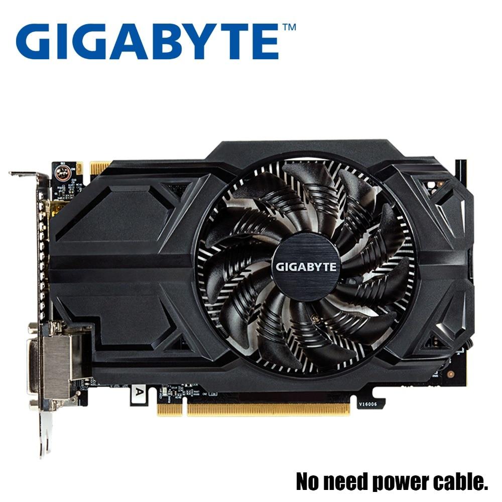 Carte graphique GIGABYTE GTX950 2 GB 128Bit GDDR5 cartes graphiques pour cartes nVIDIA VGA Geforce GTX 950 utilisé plus fort que GTX 750 Ti