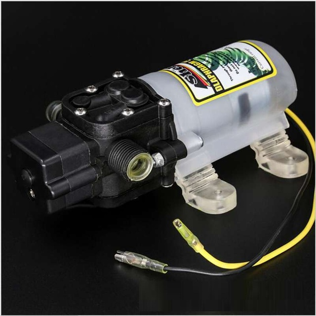 Aliexpress buy dc 12v 60w 4lm lift 50m diaphragm water pump dc 12v 60w 4lm lift 50m diaphragm water pump self priming booster pump ccuart Image collections