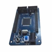 Atmega128 m128 avr módulo de placa de sistema de desenvolvimento de núcleo mínimo l060 novo quente