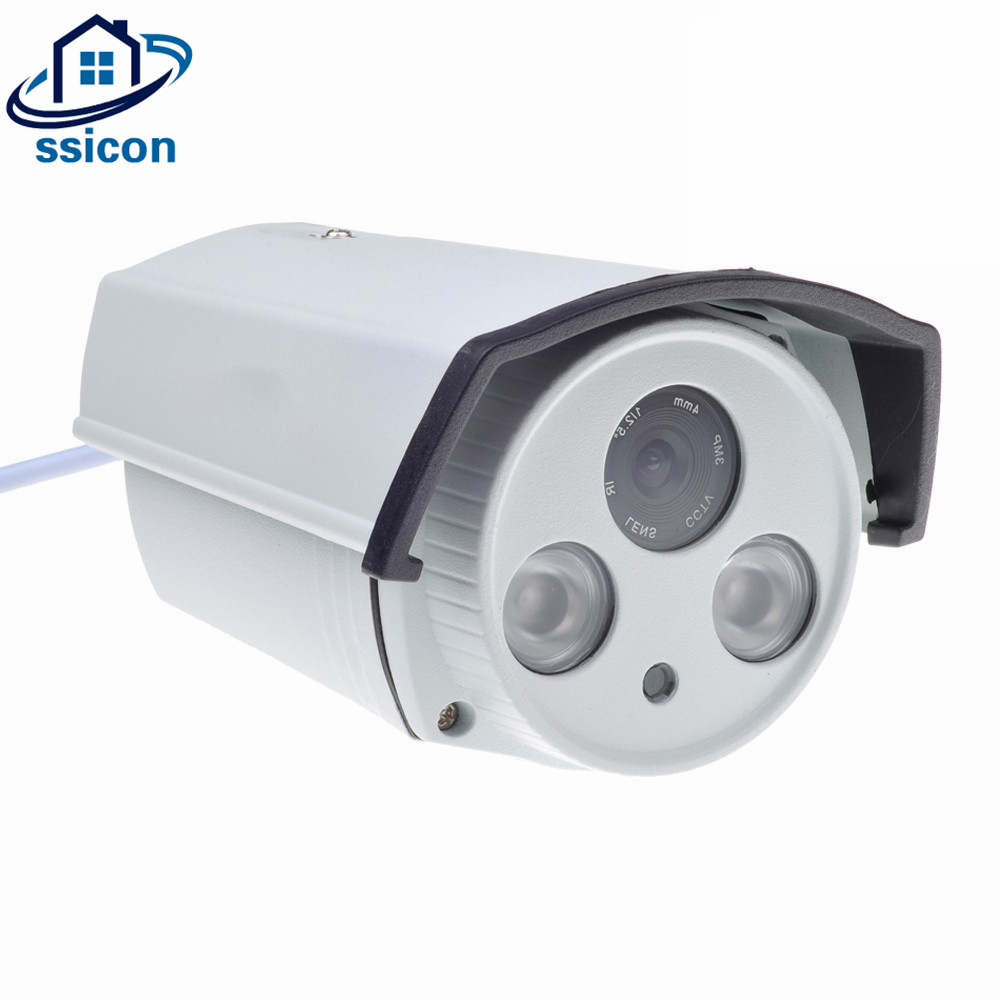 SSICON IMX323 Waterproof 2MP AHD Camera 1080P 4mm Lens Home Security Night Vision CMOS CCTV Surveillance Camera Outdoor OSD Menu ahd camera 1080p cctv dome camera 2 8 12mm lens cmos vandalproof security camera with osd menu star light