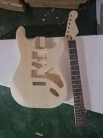 Free shipping, semi finished guitar, customizable