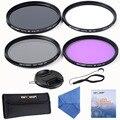 К & F Концепция 67 мм UV CPL Циркулярный Поляризационный FLD Тонкий Fader Переменной ND Нейтральной Плотности ND2-ND400 Adjuatabe Объектив Комплект фильтров