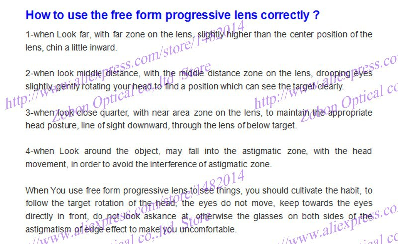 how to use the free form lens