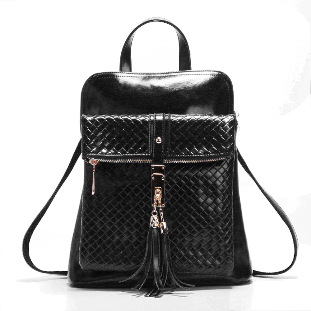 Retro Tassel Women Backpack Designer Brand Backpacks School Bag PU Leather  Women s Shoulder Bags Belt Schoolbags College Wind-in Backpacks from Luggage  ... 0f017d17b1a7a