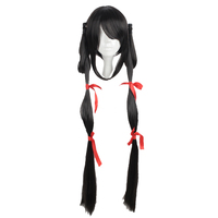 MCOSER 120cm Long Straight Cosplay WIG 3 Styles Synthetic With Twist braid 100% High Temperature Fiber Hair WIG 6