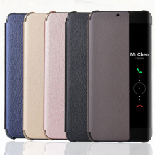 Ultra Thin PU Leather Flip Case for Huawei P20 Pro Smart Wake Up Sleep Cover For HUAWEI Mate 10 Coque