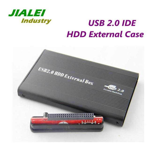 "Freeshipping 2.5"" USB 2.0 HDD External Case IDE Port USB Hard Drive Disk Enclosure Wholesale Price"