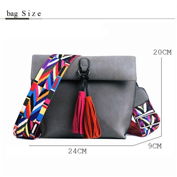Women's Bag Scrub PU Crossbody Bags Luxury Handbags Women Bags 12