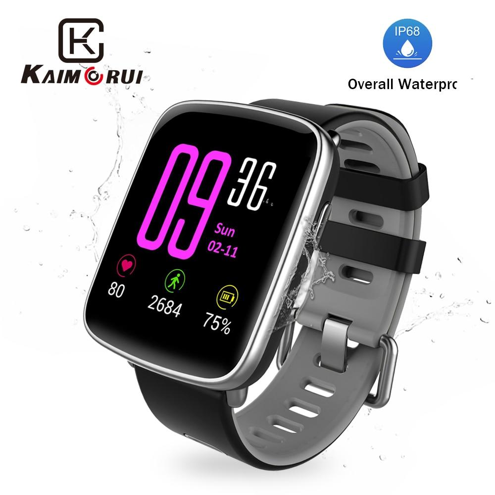 GV68 Smart Watch Women IP68 Waterproof Heart Rate Pedometer Bluetooth Fitness Bracelet Men for Xiaomi IOS