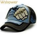 Мода Вышивка Череп Заклепки Бейсболка Мужчины Женщины Хип-Хоп винтаж Лето Осень Шляпа Snapback Гольф Hat Оборудованная Дружище Мужчины Cap