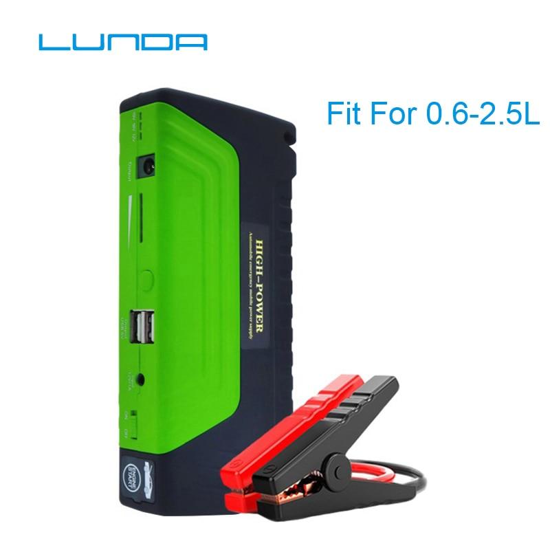 LUNDA Car Jump Starter, high power, mobile power supply,Portable mobile laptop batteries,Mobile phone charger цена