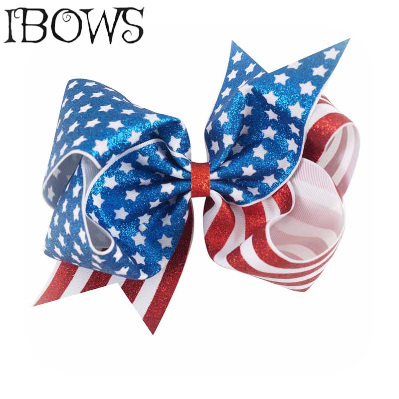"""2x HALLOWEEN HAIR BOWS//CLIPS 3/"""" WITH CLIP PREMIUM QUALITY 6 DIFFERENT PATTERNS"""