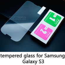 Glossy Lucent Frosted Matte Tempered Glass Protective Film On Screen Protector For Samsung Galaxy S3 S