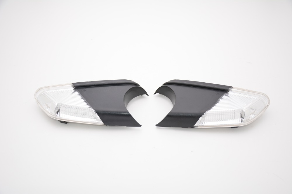 2 Pcs/Pair RH and LH Door Rearview Mirror Lamps Turn Signals Lights for Skoda Octavia 2009-2012
