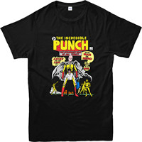 One Punch Man T Shirt The Incredible Punch Design T Shirt Adult And Kids Sizes Men