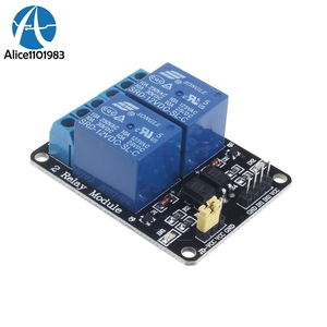 2 Channel 2CH Relay Interface Board Module 2 Way DC 24V With Optocoupler For PIC AVR DSP ARM MSP430 TTL logic For Arduino