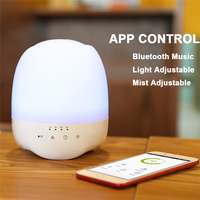 Bluetooth Aromatherapy Diffuser APP Control Air Humidifier 350ml Ultrasonic Air Humidifier Essential Oil Diffuser