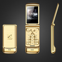 Super Mini Flip Cell Phone V9 1.54inch Small Screen Bluetooth Dialer Anti lost FM Radio Mobile Phone russian languge