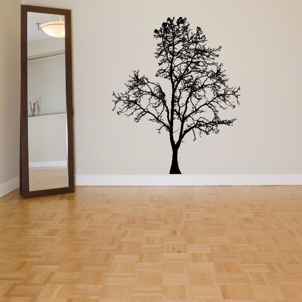 Free Shipping 123 174cm Vinyl Wall Sticker Forest Animals Playing Super Large Monkey Trees Kids