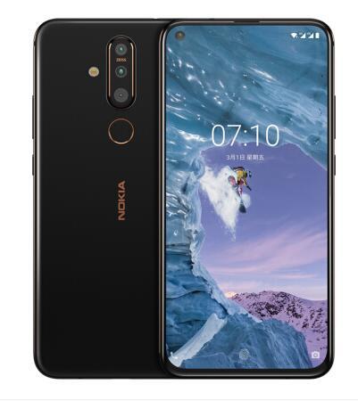 Original NOKIA X71 ROM GB RAM 6 64G telefone Android Cartão SIM 3500mah 48MP 2