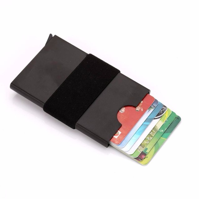 2018 new unisex metal card holder womens solid card protector mens 2018 new unisex metal card holder womens solid card protector mens business card holder colourmoves