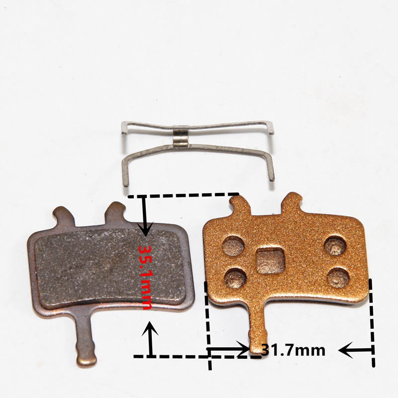 bicycle disc brake pads for Avid Hydraulic BB7 & Avid juicy 3/5/7 for SH813s