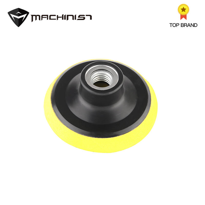 1pc 3/4/5/6/7'' M14 Polishing Plate Sucker Car Auto Beauty Bodywork Tools Backing Buffing Pad Hook Loop Backer Polisher Plate
