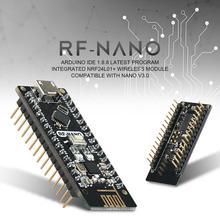 NRF24L01+ 2,4G беспроводной модуль+ Arwino NANO V3.0 = РЧ-нано интегрированная плата с интерфейсом USB Arwino Nano V3.0 NRF24L01+ 2,4G