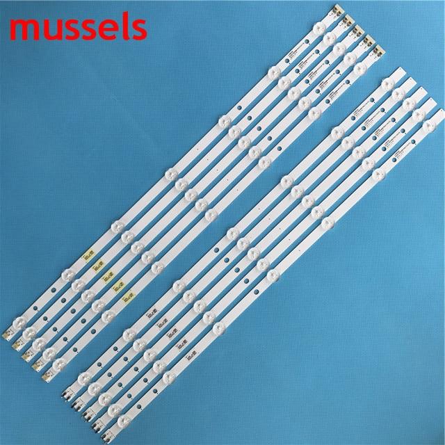"""LED Backlight strip For Samsung 55"""" TV 14Lamp 2013SVS55 D3GE 550SMA R1 D3GE 550SMB R0 UN55H6203 28772A UN55J6201 LH55MDCPLGC New"""