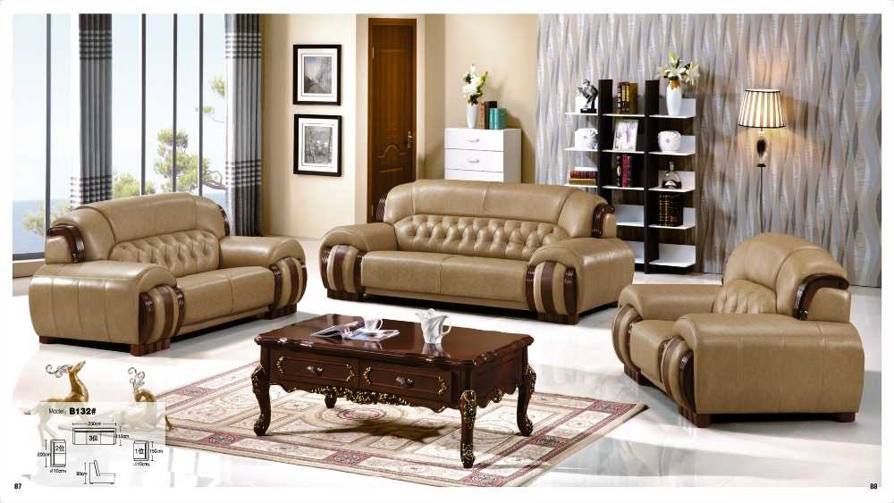 sofa sofa set living room furniture leather sofa 1 2 3 sofa set china