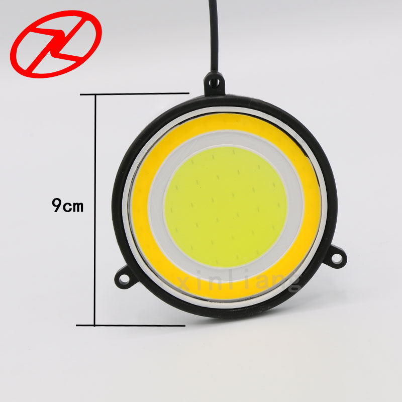 2X fuqi e lartë 90 mm Drejtuar dritës gjatë ditës Drita 12V e - Dritat e makinave - Foto 5