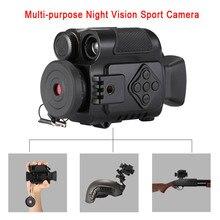 P4 0118 цифровые спортивные экшн-камеры ночного видения 5X зум Мини Размер NV инфракрасные камеры Монокуляр для продажи